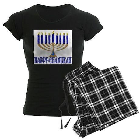 Menorah Women's Dark Pajamas