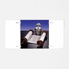 Torah Crown Aluminum License Plate