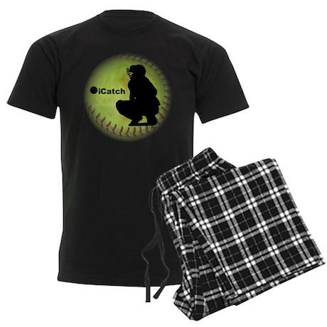 iCatch Fastpitch Softball Men's Dark Pajamas