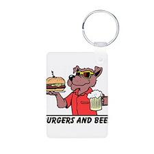 Beer & Burgers Keychains