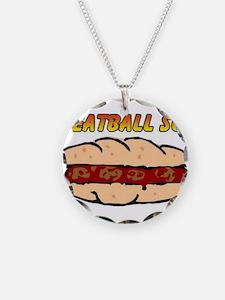 Meatball Sub Necklace