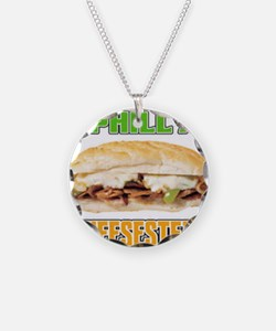 Philly CheeseSteak Necklace
