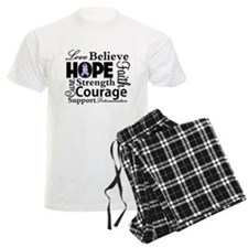 General Cancer Hope Pajamas
