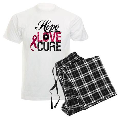 Hope Love Cure Myeloma Men's Light Pajamas