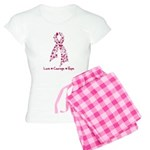 Love Courage Myeloma Women's Light Pajamas