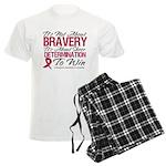 Multiple Myeloma Bravery Men's Light Pajamas
