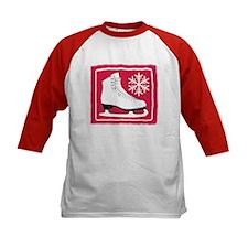 Red Ice Skate Tee