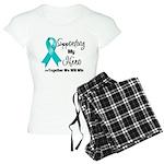 Supporting Hero Ovarian Women's Light Pajamas