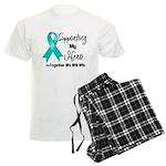 Supporting Hero Ovarian Men's Light Pajamas