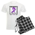 Pancreatic Cancer Month Men's Light Pajamas