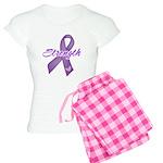 Strength Pancreatic Cancer Women's Light Pajamas
