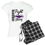 Fight Strong Pancreatic Cancer Women's Light Pajam