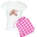 Hope Uterine Cancer Women's Light Pajamas