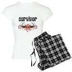 Survivor Uterine Cancer Women's Light Pajamas