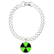 Radiation Symbol (green) Bracelet