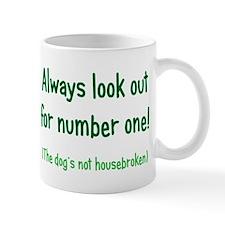 Dog is Not Housebroken Mug