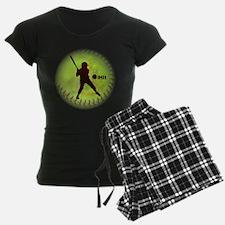 Ihit Fastpitch Softball Wome Pajamas