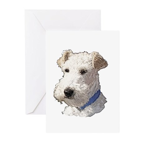 Wire Fox Terrier Greeting Cards (Pk of 20)