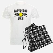 Fastpitch Tribal Dad Pajamas