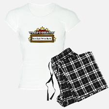 World's Greatest Social Worke Pajamas