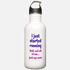 Started Running Water Bottle