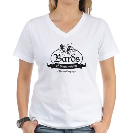 Bards of Birmingham, Katrina' Women's V-Neck T-Shi