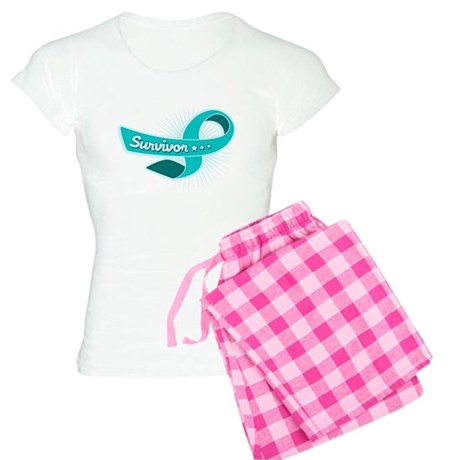 Ovarian Cancer STAR Survivor Women's Light Pajamas