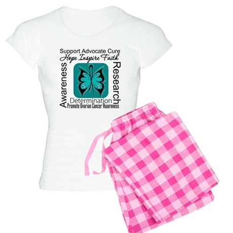 Ovarian Cancer Hope Inspire F Women's Light Pajama