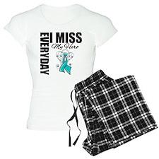 MissMyHero OvarianCancer Pajamas