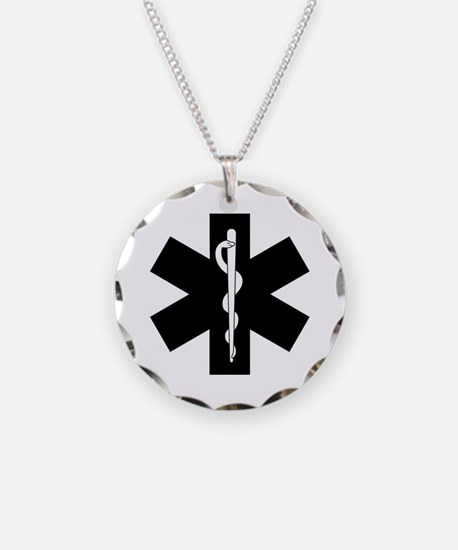 EMS Star of Life Necklace