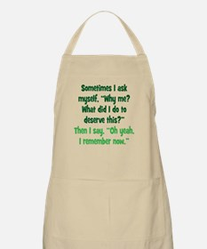Why me? Apron