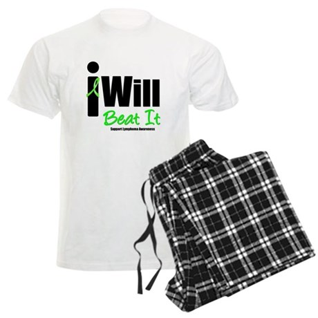 Lymphoma: I Will Win Men's Light Pajamas