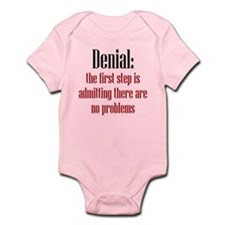 First Step of Denial Infant Bodysuit