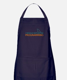 I'd rather be programming Apron (dark)