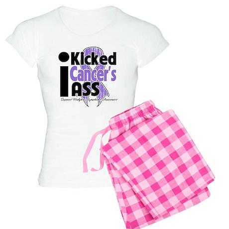I Kicked Hodgkins Ass Women's Light Pajamas