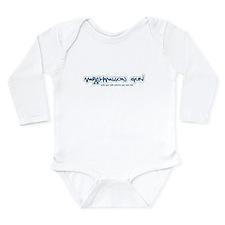 Marshmallow Gun Long Sleeve Infant Bodysuit