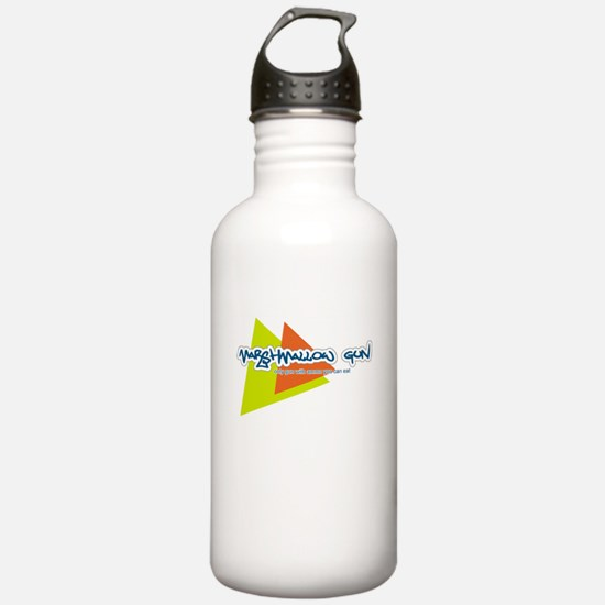 Marshmallow Gun Sports Water Bottle