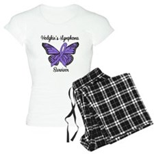 Hodgkin's Survivor Butterfly Pajamas