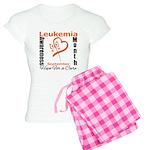 Leukemia Awareness Month v4 Women's Light Pajamas