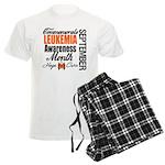Leukemia Awareness Month Men's Light Pajamas