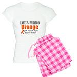 Leukemia Cure Women's Light Pajamas