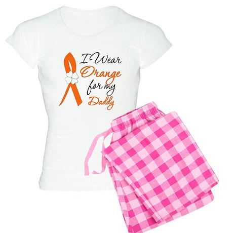 I Wear Orange For My Daddy Women's Light Pajamas