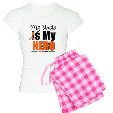 Leukemia Hero (Uncle) Women's Light Pajamas