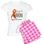 I'm a Leukemia Survivor Women's Light Pajamas