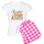 Tougher Than Cancer Women's Light Pajamas
