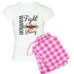 Leukemia Fight Strong Women's Light Pajamas