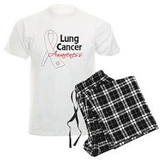 Lung Cancer Awareness Pajamas