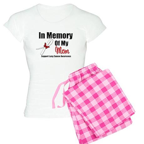 InMemoryMom Lung Cancer Women's Light Pajamas