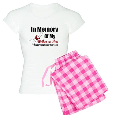 InMemoryMIL Lung Cancer Women's Light Pajamas