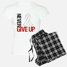 Lung Cancer Never Give Up Pajamas